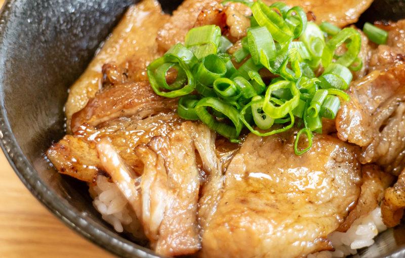 道の駅清川「恵水キッチン」で豚丼を食べてきました。