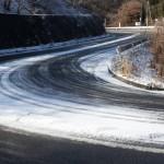 路面状況と新しい道路