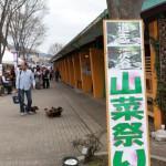 山菜祭と新発売の甲州ワインビーフ牛串