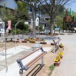 宮ヶ瀬湖畔園地の工事